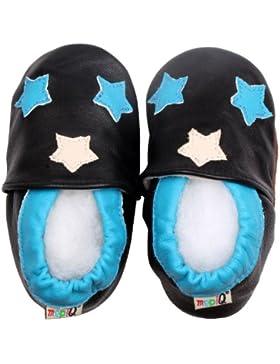 [Patrocinado]LSERVER- Zapatos de cuero suave para bebés Zapatos de Bebé para Primeros Pasos para Los Niños