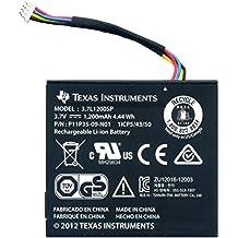 Texas Instruments N2BT/BKT/A Ersatz-Akku mit Kabel für TI-Nspire CX, TI-Nspire CX CAS und TI 84 Plus C Silver Edition
