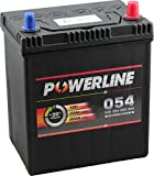 054 Powerline Autobatterie 12V