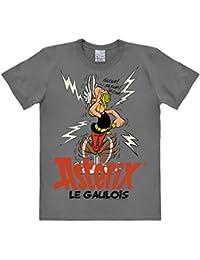T-shirt Astérix le Gaulois - T-shirt Astérix - T-shirt à col rond de LOGOSHIRT - gris - Design original sous licence