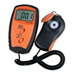 Gowe Pocket UV Light Meter UVA&UVB Measure Tester The intensity of ultraviolet detector Uv light meter Test range: 0~40mW / cm?