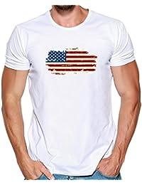 Blusa De Los Hombres De Verano,ZARLLE Camiseta De La ImpresióN De PatróN De Reloj La Moda Camisetas De ImpresióN Camisa De…