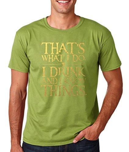 Daataadirect Herren T-Shirt Small Kiwi
