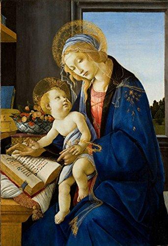 XXL Teile - Sandro Botticelli: Madonna des Buches, 1480 -