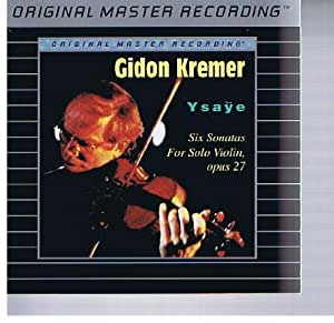 Ysaye:Six Sonatas For Violin