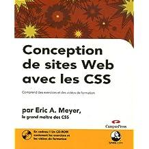 Conception de sites Web avec les CSS : Comprend des exercices et des vidéos de formation (1Cédérom)