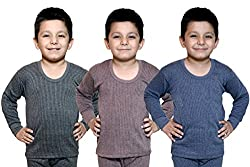Bodysense Multicolor Thermal Top for Baby Boys & Baby Girls (Pack of 3 )