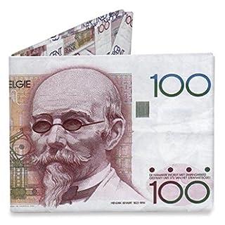 Mighty Wallet Belgium 100 Francs Hendrik Beyeart