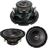 Best Woofers doubles de voiture - SUBWOOFER PYLE PLPW8D DE 400 WATT RMS ET Review