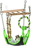 Hammock & Playbridge Gerbil or Hamster Cage Pet Toy