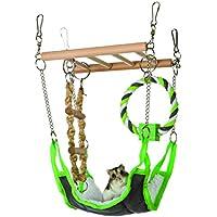 Hamaca & playbridge, o jaula de hámster mascota juguete