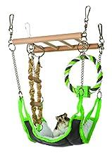 Amaca & Playbridge gabbia per criceti Gerbil o Pet Toy
