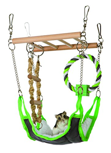 Amaca & Playbridge gabbia per criceti Gerbil o Pet Toy