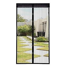 110x220 cm Magnetischer Fliegenvorhang Tür Moskitonetz für Balkontür Wohnzimmer