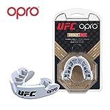 OPRO UFC Bronze Sports Mouthguard, Adultos Unisex, Blanco