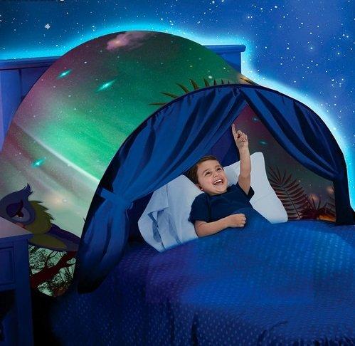 we houseware JPWonline Camping Fantasie mit Licht für Betten und Etagenbetten -