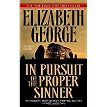 In Pursuit of the Proper Sinner (Inspector Lynley, Band 10)