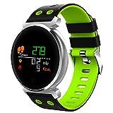 Smartwatches K2 Bluetooth Wasserdichte IP68 Herzfrequenz/Blutdruck/Blutsauerstoff Smart Watch Für Ios/Android Handys,Green