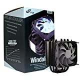 FSP Windale 6 CPU Cooler 6 Direct Contact Heatpipes 6mm Black Aluminum Alloy with 120mm White LED PWM Fan (AC602)