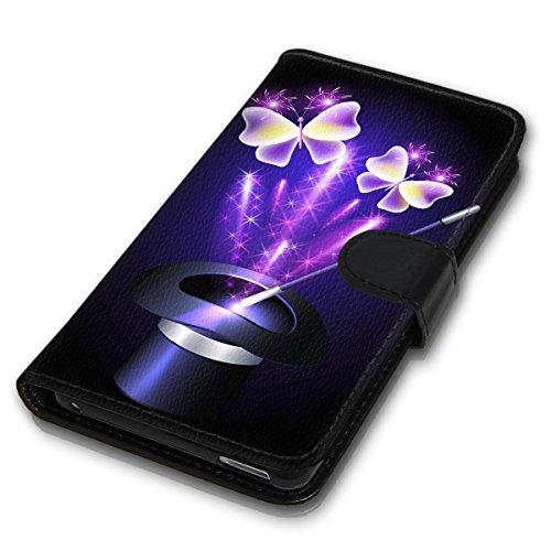 Wallet Book Style Flip Handy Tasche Case Schutz Hülle Schale Motiv Etui für Apple iPhone 5 / 5S - Variante UMV35 Design9 Design 7