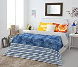 Spaces Youthopia Denim 180 TC Double Bed...