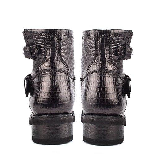 Ash Damen Schwarz Leder Trick Boots Aus vgXpvW4