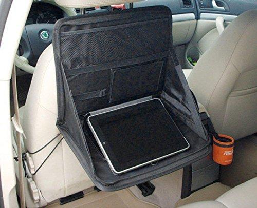 Silence-Shopping Support d'ordinateur portable de voiture Voyage Plateau Sac Mont Retour Auto Seat Flux de travail Tableau Organizer