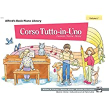 Alfred's Basic Piano Library All-in-one Course, Book 1: Italian Edition