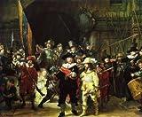 Rembrandt Die Nachtwache 1642 Poster Bild Kunstdruck 56x71,2cm