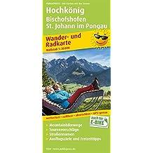 Hochkönig, Bischofshofen, St. Johann im Pongau: Wander- und Radkarte mit Ausflugszielen & Freizeittipps, wetterfest, reißfest, abwischbar, GPS-genau. 1:35000 (Wander- und Radkarte / WuRK)