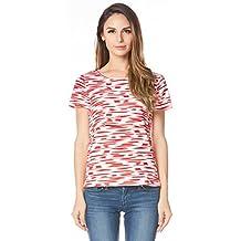 Bearsland - Camiseta para mujer con parche para lactancia