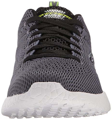 Skechers Energy Burst-Second Wind Men US 8.5 Black Tennis Shoe