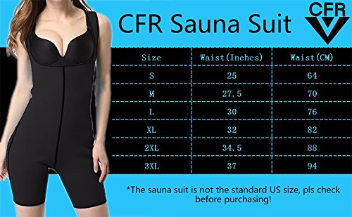 Cfr Women s Full – Sauna Suits