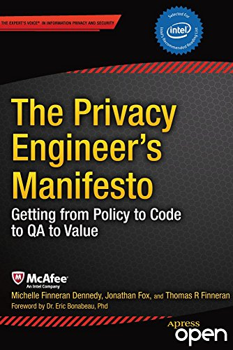 The Privacy Engineer's Manifesto: Getting from Policy to Code to QA to Value (English Edition) por Michelle Dennedy