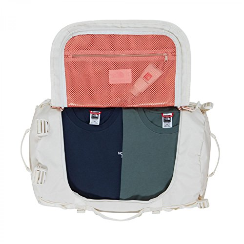 The North Face Reisetasche Base Camp Duffel VINTAGE WHITE/BURNT CORAL