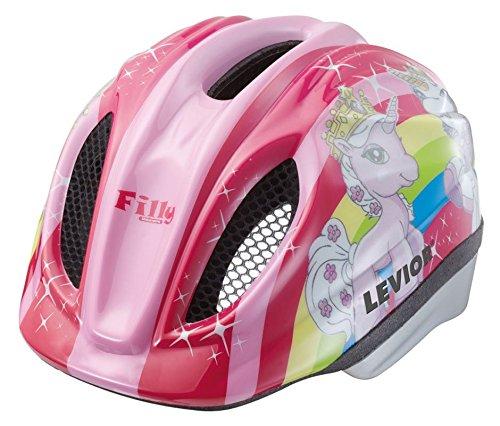 Helm LEVIOR Primo Lizenz Fahrradhelm Kinderhelm Größe M 52-58 CM Filly