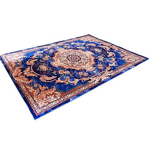 LLDHWX Persische Art einfache Moderne Wolldecke Teppich Grundmatte für Nachtwohnzimmer Schlafzimmer Korridor Tee Tabelle