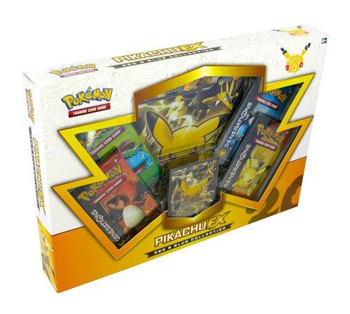 Pokémon Pok80132TCG Rouge et Bleu Collection Pikachu EX Jeu de Cartes