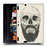 Head Case Designs Officiel Balázs Solti Barbe n'est Pas Morte Crânes Étui Coque en Gel Molle pour Amazon Kindle Fire HDX 8.9
