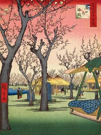 Plum Garden Kamata by Hiroshige, Ando disponibile-Stampa