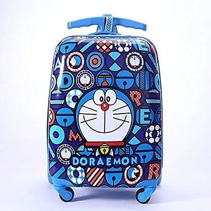 Kinder-Koffer-Roller-Trolley-23-Zoll-Fnfrad-Multifunktions-Trolley-Fr-Kinder