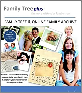 Family Tree Plus Pro Account 1 Year Subscription Pc Mac