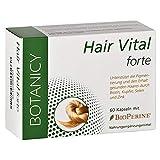 Hair Vital forte, hochdosierte Vitamine und Mineralien für vitale Haare und Kopfhaut, mit Biotin, Zink, Kupfer, Selen und Hirse, höchste Bioverfügbarkeit durch Bioperin, 60 Kapseln (Monatspack)