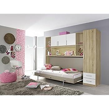 querklappbett wandkombination klappbett querklappbett. Black Bedroom Furniture Sets. Home Design Ideas
