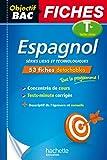 Objectif Bac Fiches Détachables Espagnol Tle