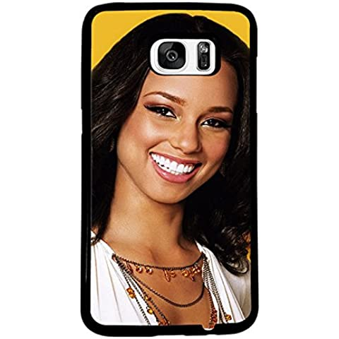 Special Samsung Galaxy S7 Edge Custodia Case Alicia Keys Samsung S7 Edge Custodia Case Alicia Keys Famous Singer Star Samsung Galaxy S7 Edge Cover Custodia Case With Hard Plastica Prottetiva pour for Samsung S7 Edge Design Alicia Keys - Specialized Hard Rock