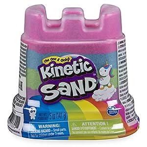 Kinetic Sand 6054549 Rainbow Castle Contenedor