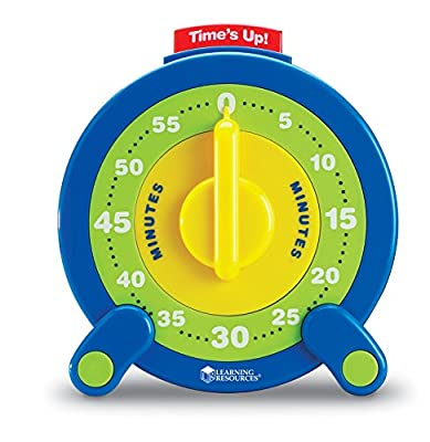Learning Resources 60 Minute Jumbo Timer from Learning Resources
