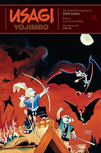 Usagi Yojimbo: Book 5: Lone Goat and Kid: Lone Goat and Kid Bk. 5