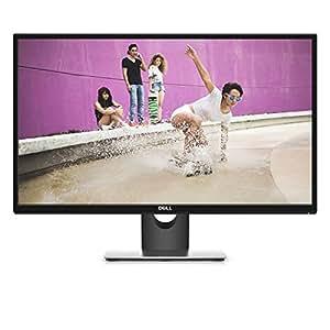 """DELL SE2717H Monitor 27"""" Full HD IPS per PC, Nero Opaco e Argento"""